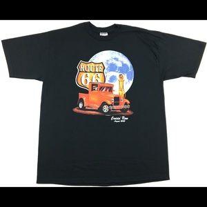 Vintage 2000 Cruisin' Reno Route 66 Graphic Shirt